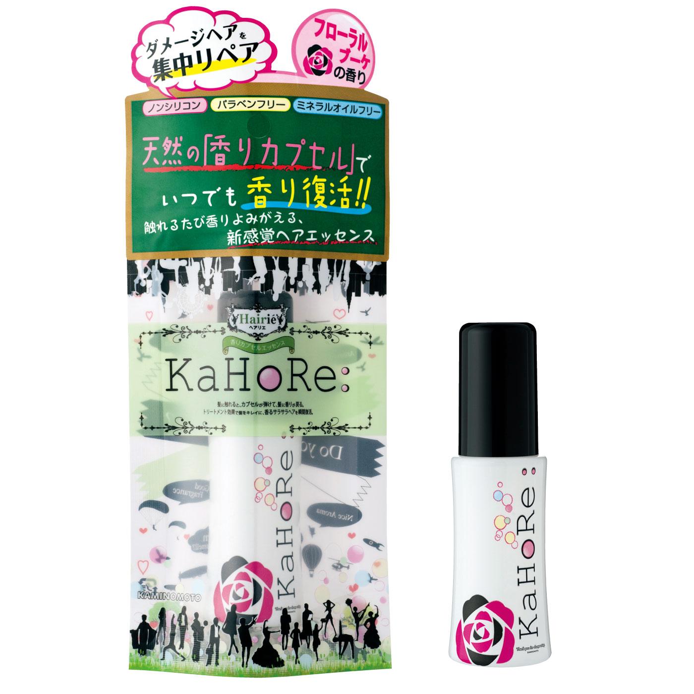 ヘアリエ KaHoRe:ヘアエッセンス フローラルブーケの香り